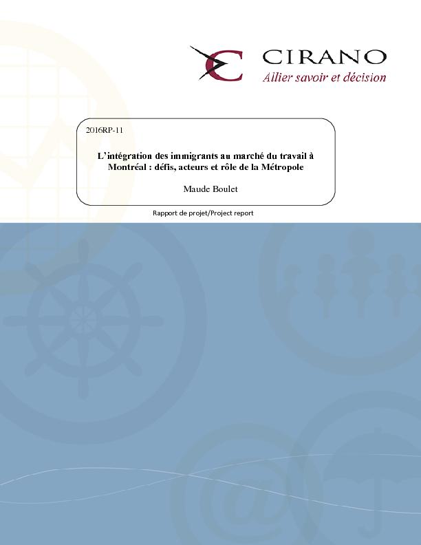 CIRANO / Documents & Publications / Scientific Publications